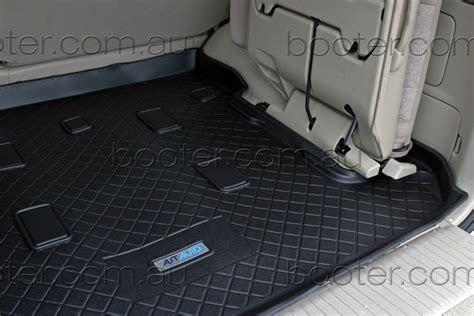 cargo liner boot mat toyota landcruiser 100 series mar 98 to oct 07 5 dr wagon