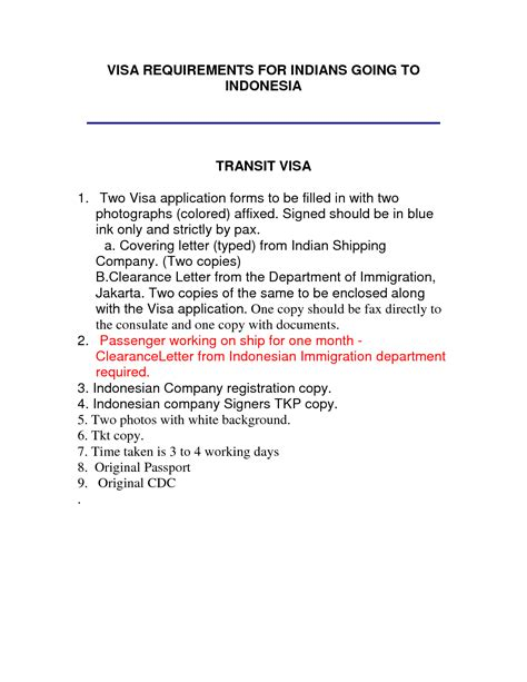 Invitation Letter Visa Indonesia Business Invitation Letter Template Best Template Collection