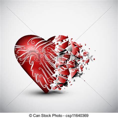 Home Design Sketch Free by Clip Art Vector Of Broken Heart Broken Glass Heart Eps