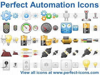 automation icons free and software