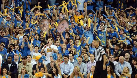 year  ucla basketball fans  wild