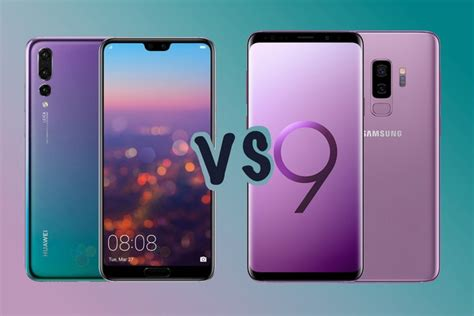 h samsung s9 huawei p20 pro vs samsung galaxy s9 plus battle to be the best centric flagship
