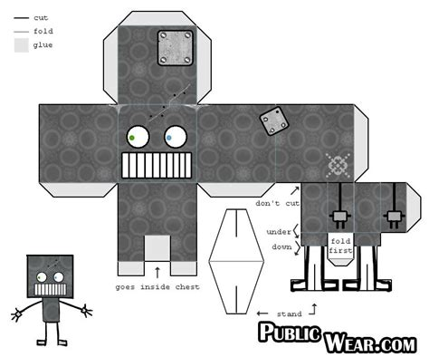 How To Make A Robot With Paper - make a robot 195 162 226 172 194 166 paper robot 4