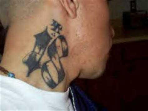 number tattoo on neck neck tattoo images designs