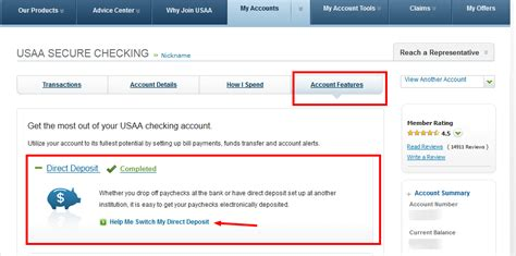 Bank Letter For Direct Deposit Usaa Direct Deposit Form Usaa Member Community