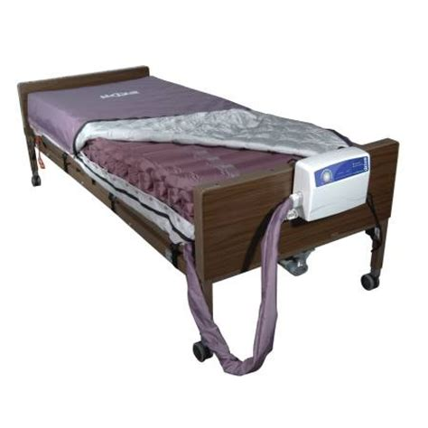 hospital bed air mattress med aire low air loss mattress replacement system with alternating pressure by drive