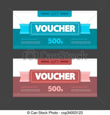 design house voucher two coupon voucher design gift voucher template with