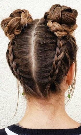 cool easy hairstyles for school photos the one hairstyle fashion will be wearing this buns hairstyles and