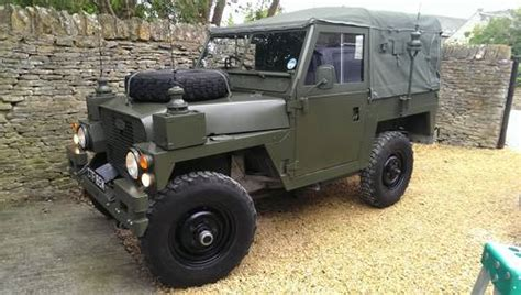 Jeep Nato Canvas land rover series 3 lightweight 1973 sold on car