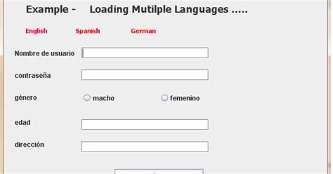 simple swing application exle programming world a simple swing application to load