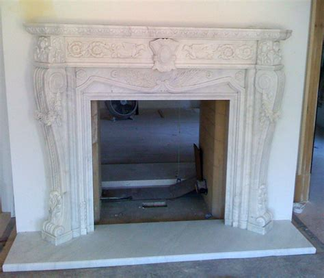 marble fireplace mantel carved white fireplace gallery artisan kraft