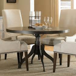 Dining Room Sets With Upholstered Chairs by Walton Round Dining Room Set W Upholstered Chairs