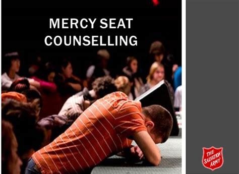 the mercy seat salvation army canada mercy seat
