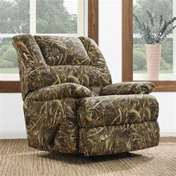 Camouflage Recliner Cover by Dorel Living Realtree Camouflage Deluxe Recliner Camo