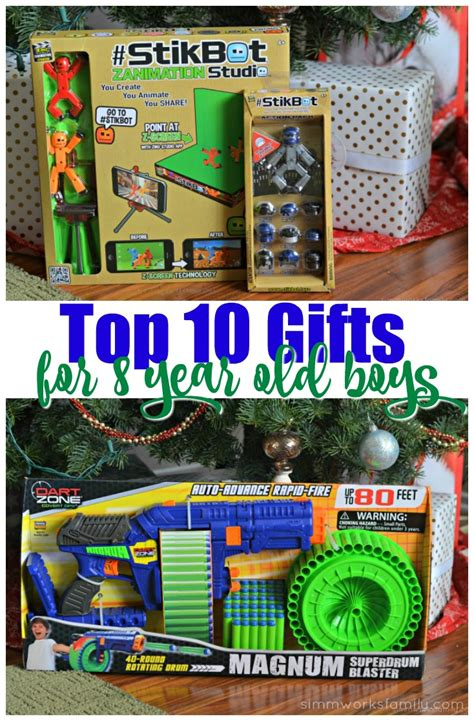 top 10 gifts for 8 year boys simmworks family