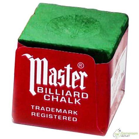 Billiards Cue Chalk master billiard pool cue chalk 1 dozen green ebay