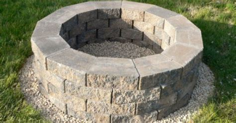 Step By Step Build Your Own Pit The Garden Hose Steps To Build Pit Diy
