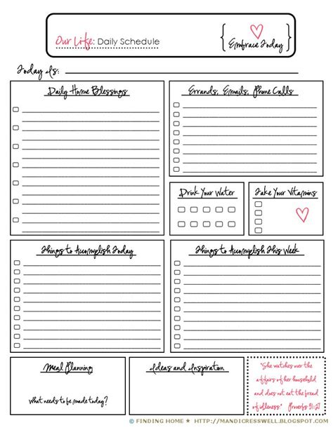diy day planner templates 17 best images about erin condren planner on