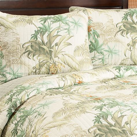 Tropical Quilt Sets by Bahama Rainforest Tropical Quilt Set From Beddingstyle