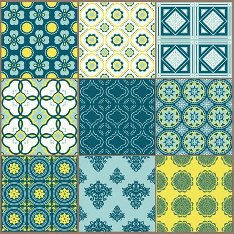 simple floral patterns vector simple floral patterns vector