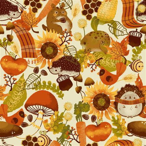 autumn pattern tumblr autumn pattern by pronouncedyou on deviantart