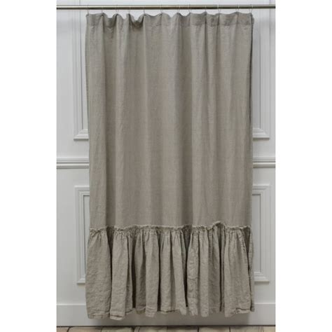 neutral shower curtain decorations vintage ruffle shower curtain with neutral