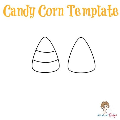 halloween candy corn felt light garland atta girl says