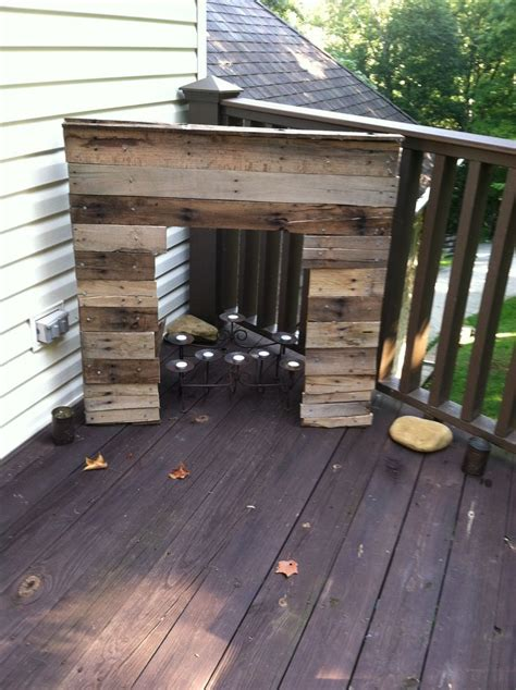 Pallet Fireplace by Pallet Fireplace Upcycle