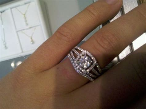bands for a split shank engagement ring weddingbee