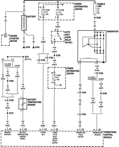 1998 jeep grand engine diagram 1998 free engine