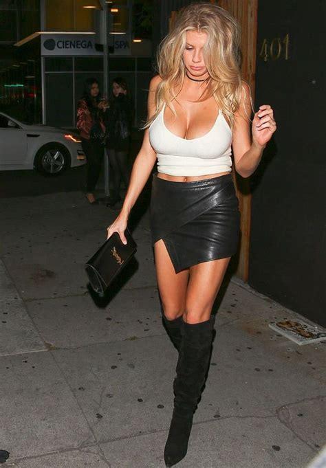 Nena High Heels N Co T 7cm celebritiesinleather on quot char mck wears a black