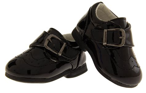 black shoes for toddler velcro buckle shoes baby boy infant toddler black smart