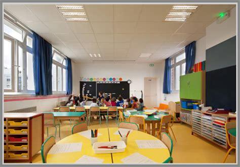 tata ruang kelas yang nyaman paduan warna semangat untuk ruang kelas