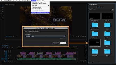 adobe premiere pro lessons create titles and graphics with the essential graphics