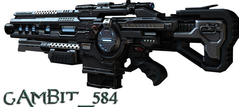 What Section Is Assault by Section 8 Gun Render By Gambit584 On Deviantart