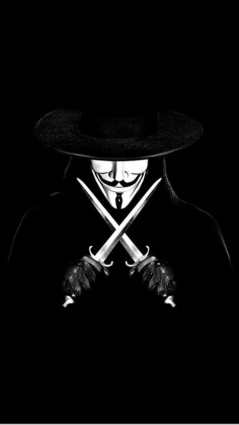 Anonymous V For Vendetta Wallpaper for iPhone X, 8, 7, 6 - Free Download on 3Wallpapers