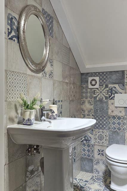 tualet shabby chic style powder room