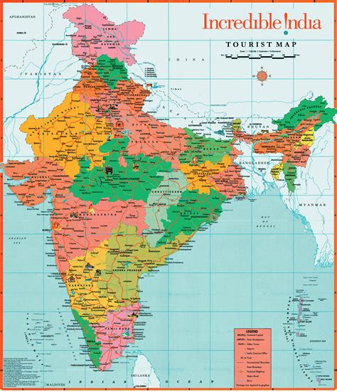 map india tourist map of india tourist places in india india tourism map
