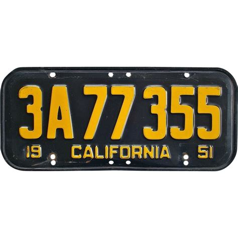 what to do with license plates when selling a car in illinois old california license plate 1951 sold on ruby lane
