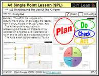 Single point lessons for knowledge management one stop lessons