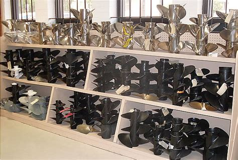 Shoo Marine propeller service sales sante marine propellor