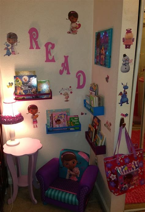 doc mcstuffins bedroom doc mcstuffins kids room doc mcstuffins themed mini children s library kins pinterest