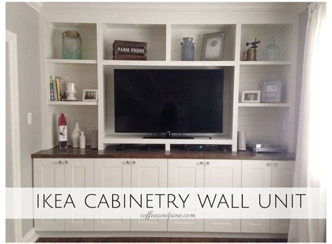 Ikea Hack   Wall Unit. An affordable way to build a wall