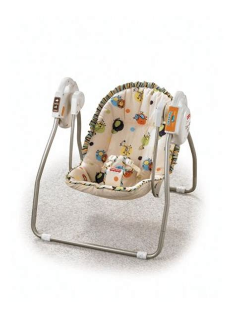 open top take along swing fisher price open top take along swing scribble safari