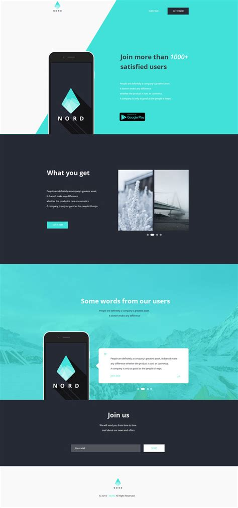 12 New Free Psd Website Templates Freebies Graphic Design Junction Simple One Page Website Template