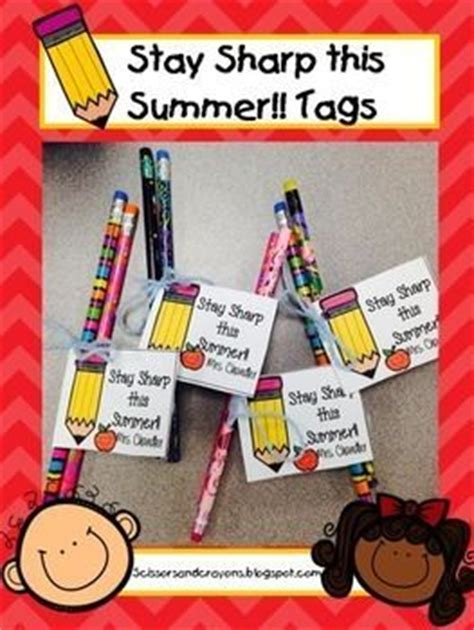 pencil pen gift tags printable back to school end of year end of and tags on