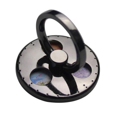 D3213 Fidget Spinner 2 In 1 Ring Stand Termura Kode Rr3213 2 in 1 fidget spinner cell phone mount holder anti stress