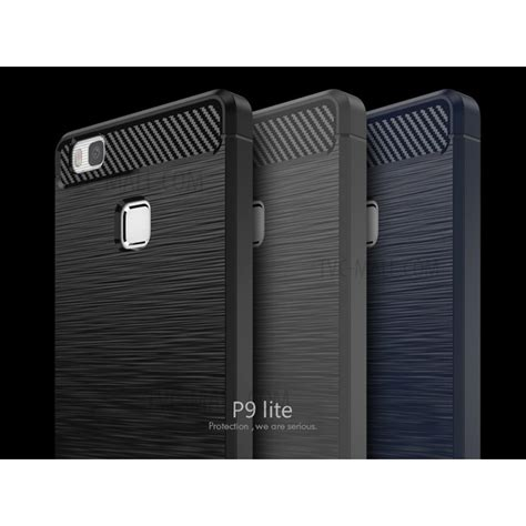 Carbon Fiber Ipaky Zenfone Live Softcase Tpu 1 ipaky brushed tpu for huawei p9 lite g9 lite with carbon fiber decorated black tvc mall