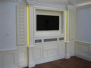 wall media unit wall units london carpentry solutions