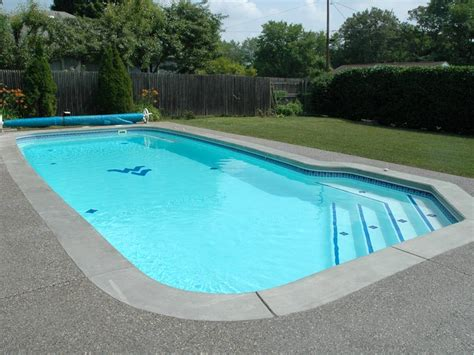 fiberglass swimming pool paint color finish viking blue 7 calm water pools